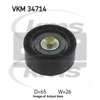 New Genuine SKF Poly V Ribbed Belt Deflection Guide Pulley VKM 34714 Top Quality