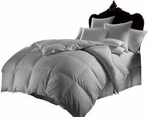 1000 TC Egyptian Cotton 300 GSM 5 PC Comforter Set+Fitted Sheet US Cal King