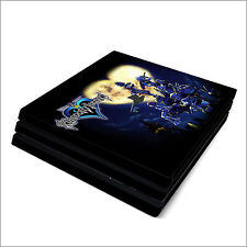 Skin Decal Cover Sticker for Sony PS4 Pro - Kingdom Hearts