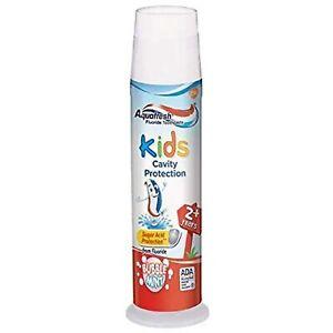 Aquafresh Kids Fluoride Toothpaste with Triple Protection, Bubblemint