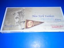New York Yankees Mitchell & Ness 16 Historical Wool Pennants Limited Edition NEW