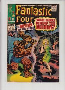 "FANTASTIC FOUR #66 FN- 1st WARLOCK ""HIM""!!"