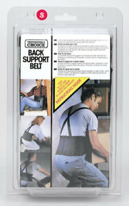 CLC 28 in to 32 in.   Elastic Back Support Belt Black S 1 pc