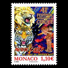 Monaco 2017 - Monte Carlo International Circus Festival Art - MNH