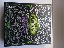 WORLD OF WARCRAFT LEGION COLLECTORS EDITION and artbook signed by devs Unused
