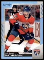 2020-21 UD O-Pee-Chee Blue Border #14 Michael Matheson - Florida Panthers