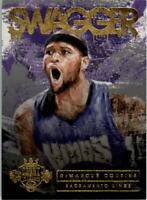 2015-16 Court Kings Swagger #4 DeMarcus Cousins - NM-MT