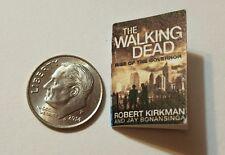 Miniature dollhouse book 1/12 Walking Dead Comic Book Tv show Darryl Negan R