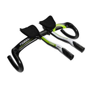 TOSEEK Carbon Fiber Road Bike Drop Bar Aero bar Set Bicycle Handlebar 31.8*440mm