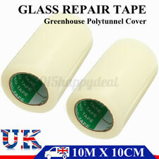 10m*100mm Polythene Polytunnel Repair Tape Extra Strong Clear Greenhouse   y