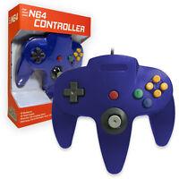 Nintendo 64 CONTROLLER BLUE  N64 *OLD SKOOL* New In Box!!