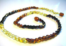 Genuine  BALTIC  AMBER Necklace 'Snake'