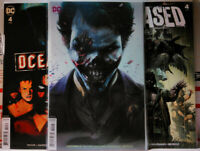 DCEASED #4 Mattina HORROR VARIANT SET A B C dc comics JOKER teen titans 2019 nm