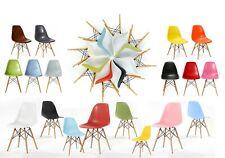 11 COLOUR  Eiffel DSW style Chair Lounge Dining Retro Designer