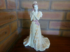 Coalport Lady Figurine, Age of Elegance, Midsummer Dream Matt 1997 Box & Cert.
