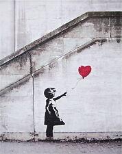Balloon Girl, Offset Lithograph, BANKSY