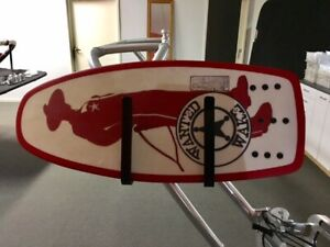 Wakeboard Tower Wake Surf Rack by Wanted Wake Trident Series Australian owned
