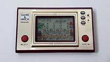 NINTENDO GAME & WATCH CHEF WIDE SCREEN  RARE HANDHELD LCD VINTAGE 1981
