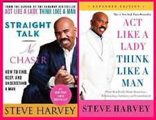Steve Harvey Relationship Collection Set Act Like A Lady AND Straight Talk 1-2!