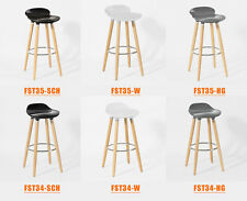 SoBuy® Tabouret de bar cuisine avec repose-pieds haute qualité, FST34/FST35 FR
