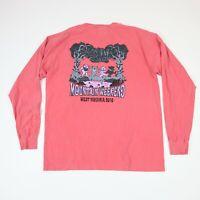 Sigma Phi Epsilon Frat Comfort Colors LS T-shirt Dancing Bears Dead Head Theme L
