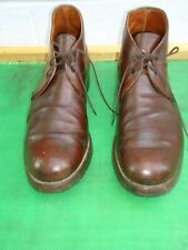 RED WING # 9017 Beckman Cigar Featherstone Leather Ankle Boot  Men SZ# 12 D