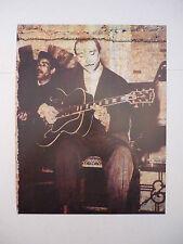 Django Reinhardt Jazz Guitarist 12x9 Coffee Table Book Photo Page