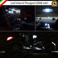 KIT FULL LED INTERNI PEUGEOT 3008 MPV CONVERSIONE ABITACOLO COMPLETA CANBUS
