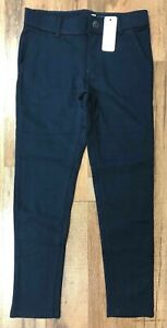 Gymboree Girl's School Uniform Ponte Knit Pant Navy Blue NWT