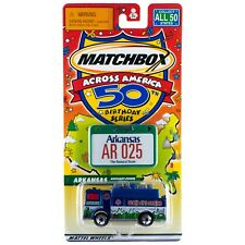 Matchbox Across America AR Arkansas Auxiliary Power Truck #25 50th Birthday