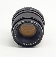 Auto Mamiya Sekor 55mm F1.8 Lens 42mm Thread Mount TESTED