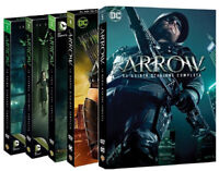 ARROW - SERIE COMPLETA 01 - 05 (25 DVD) SERIE TV DC Comics