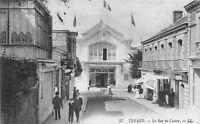 POSTCARD    FRANCE   DINARD   La  Rue  du  Casino      LL  57