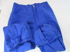 OBERMEYER Men's XL BLUE SKI PANTS Polyester & Nylon