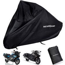 XXXL Black Motorcycle Rain Cover Waterproof For BMW K 1600 B LE SE GT GTL Sport