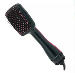 Revlon One-Step Hair Dryer and Styler, Black Blow Dryer Tangle Free Less Frizz