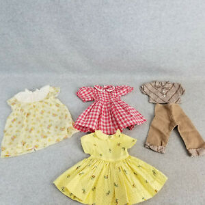 """9"""" to 10"""" long Doll Dress LOT for vintage antique modern 14"""" to 16"""" Doll"""