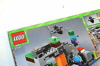 LEGO Minecraft The Zombie Cave 21141 Building Kit with Popular Minecraft Steve