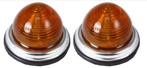 Flush BLMC Lamp Amber Festoon (PAIR)