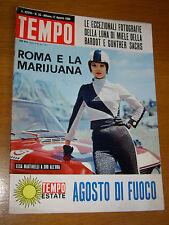 TEMPO 1966/33=GIOVANNI AGNELLI=POSITANO=CHARLES WHITMAN=BRIGITTE BARDOT SACHS G.