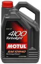 5 Liter Motul 4100 Turbolight 10w40 huile moteur