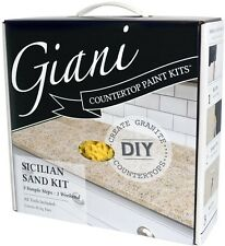 Countertop Paint Kit Acrylic Ceramic Countertops Giani Granite Kitchen Sand
