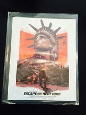 Escape From New York Poster Print Loot Crate DX June 2016 Dystopia Exlusive