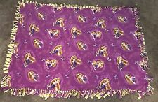 Rapunzel Fleece Blanket Anti-pill Tie Blanket Approximately 52 X 70