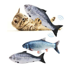 Electric cat toy fish chew toy cat Interactive toy