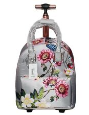 92a0c7799 Ted Baker London Grey GLLORIA Oracle Two Wheel Travel Carry On Suitcase Bag
