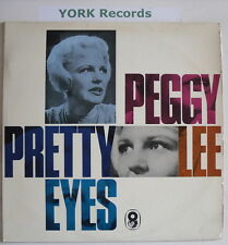 PEGGY LEE - Pretty Eyes - Excellent Condition LP Record