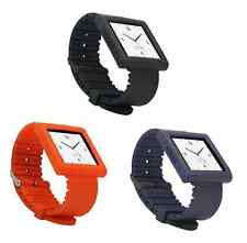 KOKKIA i10sWatch Straps: Black,Navy Blue,Tangerine Tango Nano 6G Watch Straps