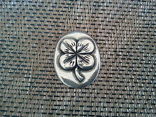 Your LUCKY FOUR LEAF CLOVER GOOD LUCK 4 POCKET COINS PEWTER All New