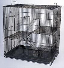 "Large 30"" Chinchilla Ferret Rat Mice Sugar Glider Animal Cage K705H Black-357"